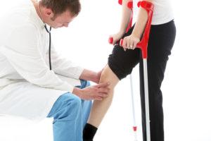 диагностипа перелома коленного сустава